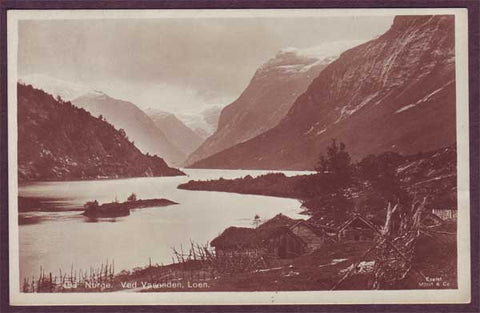 NO5063PH Norway, Ved Vasonden, Loen 1921