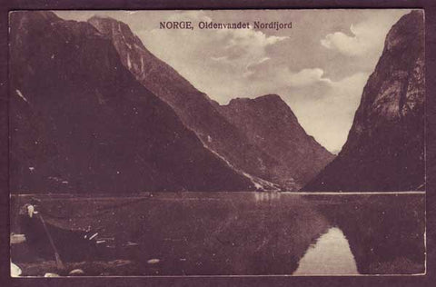 NO5064PH Norway, Oldenvandet Nordfjord 1920