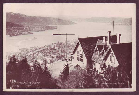 NO5065PH Norway, Floistuen, Bergen 1917