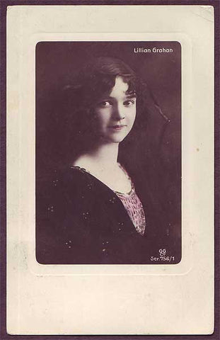 NO6009 Norway, Lilian Grahan, Actress  ca.1920