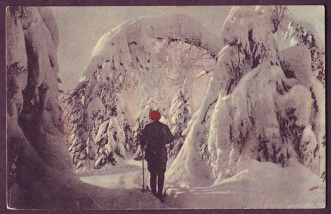 NO6011 Norway Vinter i Norge #2, 1915