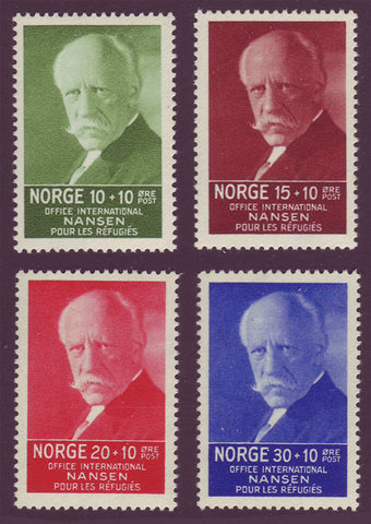 NOB05-81 Norway Scott # B5-8 VF MNH**, Fridtjof Nansen 1935