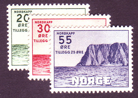 NOB54-562 Norway Scott # B54-56 MNH** Nordkapp 1953