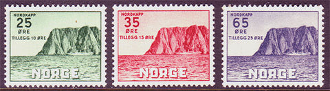 NOB59-612 Norway               Scott # B59-61 MNH**        Nordkapp 1957
