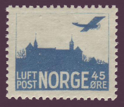 NOC1a1 Norway Scott # C1a MNH** Air Mail 1927-34