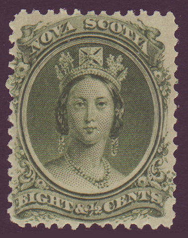 NS112.1      Nova Scotia # 11 VF MH Queen Victoria 1860-63