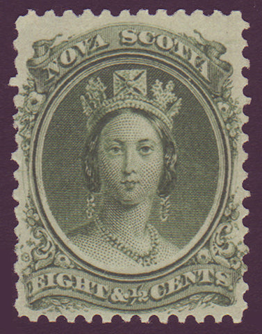 NS11a1      Nova Scotia # 11 VF MNH** Queen Victoria 1860-63
