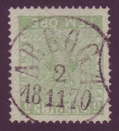 SW00065.1 Sweden Scott # XF with Superb S.O.N. Cancel
