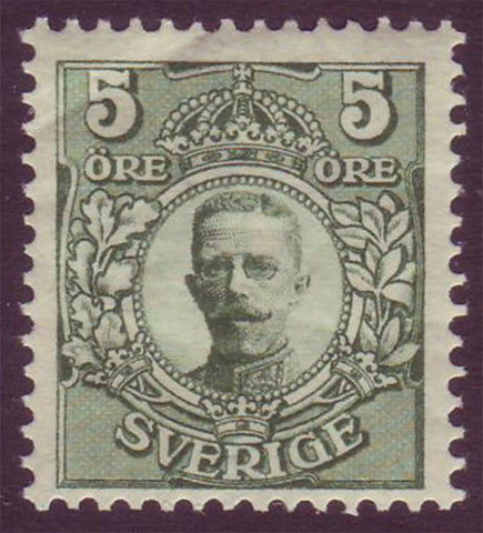 SW00701PE Scott # 70 MNH **  King Gustaf V 1910-14
