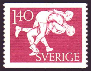 SW04472 Sweden Scott # 447 VF MNH** 1953