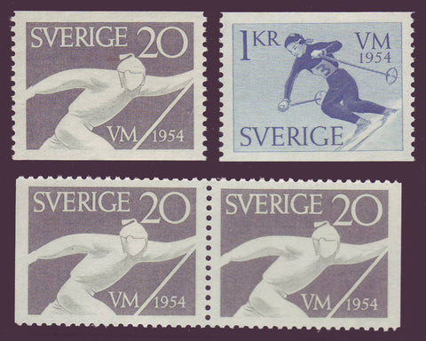 SW0462-651 Sweden Scott # 462-64  MNH** 1954