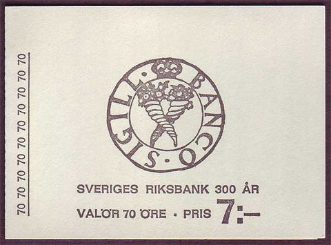SW0779a1 Sweden           Scott # 779a         Facit H204       (Bank of Sweden)              ;