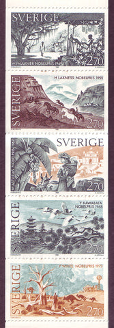 SW1566a1 Sweden booklet MNH,              Nobel Prize for Literature 1985