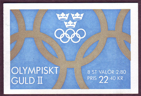 SW1940a Sweden booklet MNH,       Olympic Gold II - 1992