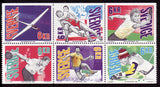 SW1990a1 Sweden booklet MNH, World Sports Championships 1993