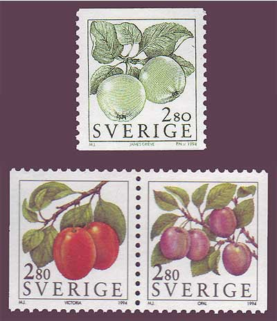 SW1997-981 Sweden Scott # 1997-98 + 2005 MNH