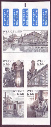 SW2660 Sweden  booklet MNH,           Scenes from Industrial Towns 2011