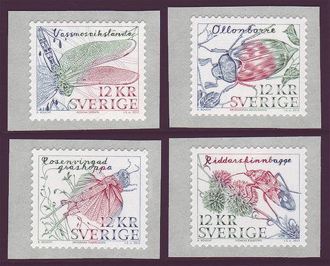 SW2701 Sweden       Scott # 2701 MNH,           Insects  2013