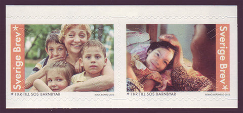 SWB61 Sweden       Scott # B61 MNH,            Children's Year        2013