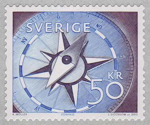 SW2708 Sweden       Scott # 2708 MNH            Compass