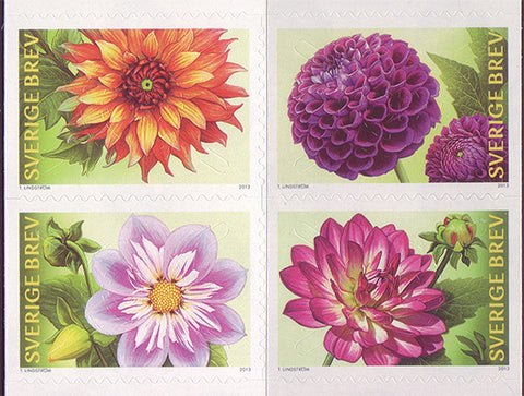 SW2713 Sweden       Scott # 2713 MNH            Dahlias      2013
