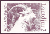 SW2050aexp Sweden booklet MNH,      Domestic Animals II - Goats 1995