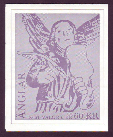 SW2260a Sweden booklet MNH,   Christmas Angels - 1997