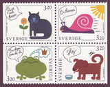 SW2084-871 Sweden booklet MNH,  Greetings Stamps III - 1994