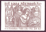SW2105-061 Sweden booklet MNH,  Christmas 1994
