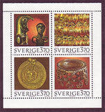 SW2148a1 Sweden booklet MNH,  Ancient Artifacts - 1995
