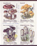 SW2190aexp Sweden booklet       Scott # 2190a /      Facit H473            Mushrooms 1996
