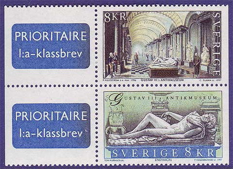 SW2246-471 Sweden Scott # 2246-47 MNH, Museum of Antiquities - 1997