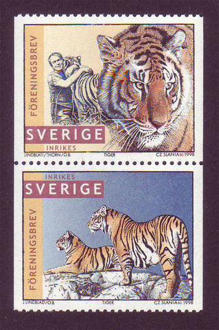 SW2262a Sweden Scott # 2262a MNH, Jan Lindblad's Tigers - 1998