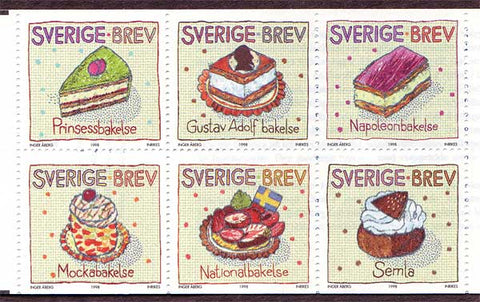 SW2299a Sweden  Scott # 2299a MNH,          Greetings Stamps VII - 1998