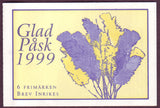 SW2322a  Sweden booklet MNH,     Happy Easter 1999