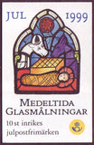 SW2362a  Sweden booklet MNH,      Christmas 1999 - Stained Glass