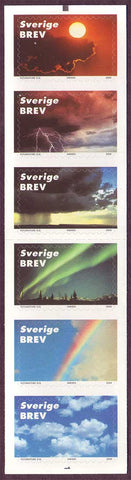 SW2396 Sweden self-stick booklet,          Signs in the Sky -  2000