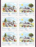 SW2407c  Sweden booklet MNH,         Year of the Snake - 2001
