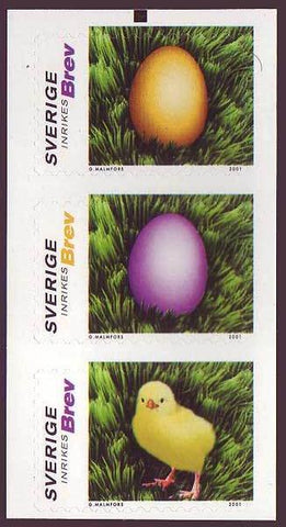 SW2414 Sweden booklet pane Scott # 2414 MNH, Happy Easter 2001