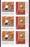 "SW2422 Sweden booket MNH,      ""To and From"" -  Stamp Design Winners 2001"