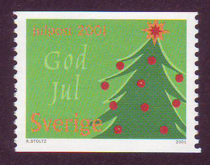 SW2423-24 Sweden Scott # 2423-24 MNH,  Christmas Decorations 2001