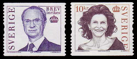 SW2501-02 Sweden MNH, Carl XVI Gustaf and Queen Silvia - 2005