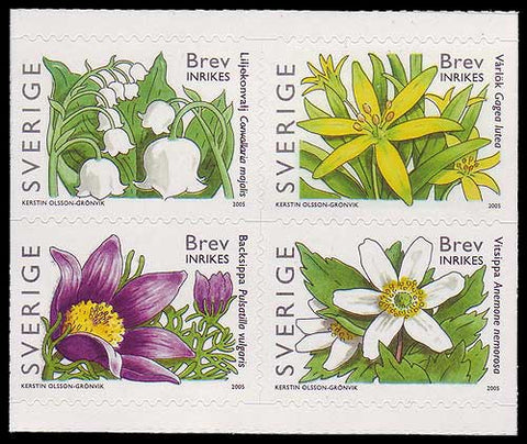 SW25081 Sweden Scott # 2508 MNH, Spring Flowers 2005