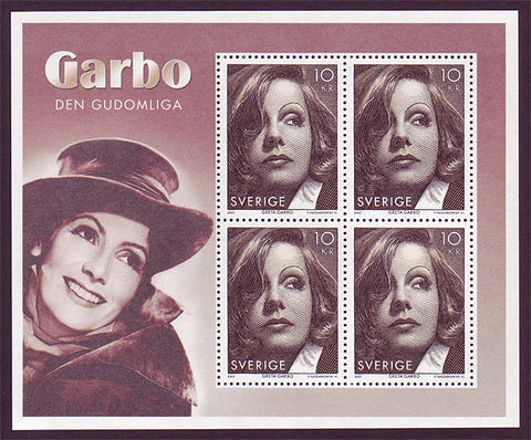 SW2517d Sweden Scott # 2517d MNH, Greta Garbo 2005