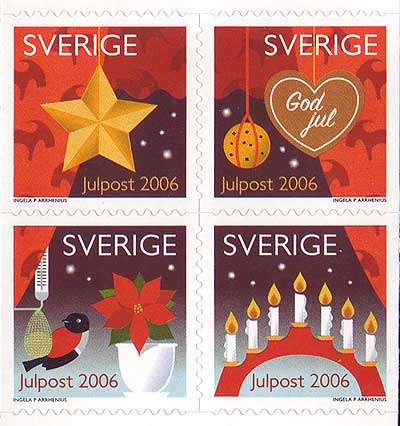 SW2548 Sweden     # 2548 MNH,    Christmas  2006