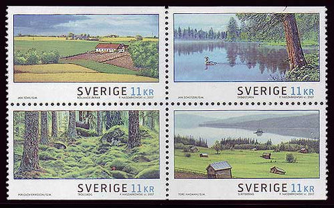 SW25641 Sweden # 2564 MNH,   Summer Landscapes 2007