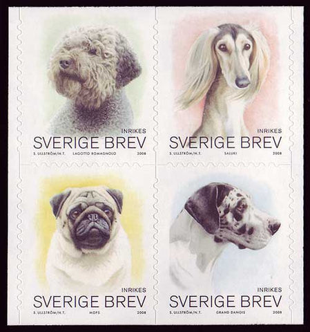 SW25821 Sweden # 2582 MNH,  Dogs 2008