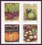 SW2596e Sweden # 2594-96 MNH,      Organic Fruits and Vegetables 2008