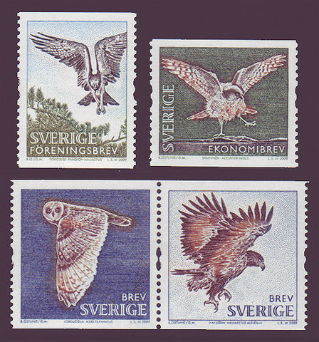 SW2609-11 Sweden  # 2609-11 MNH, Birds 2009
