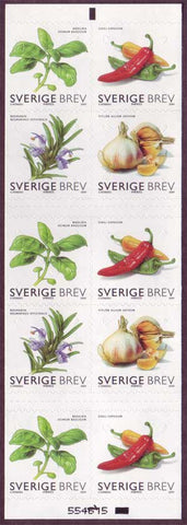 SW26241 Sweden booklet  # 2624 MNH,   Spices and Herbs 2009
